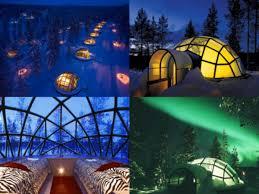 finland northern lights hotel igloo hotel finland northern lights aurora places to visit