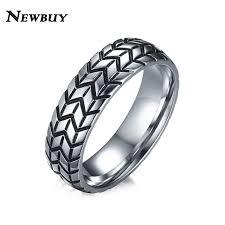 tire wedding ring aliexpress buy newbuy brand 6mm s tire shape ring