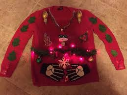 ugly christmas sweaters collection on ebay