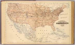 Elevation Map Of United States by Topographical Map Of The United States David Rumsey Historical