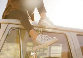 Lenox Tan by Silver Metallic Leather Women U0027s Lenox Sneakers Toms