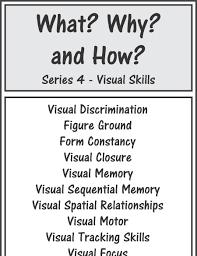 visual perceptual and visual motor skill activities downloads