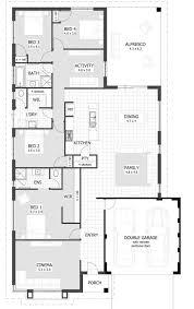 floor plan baby nursery 4 bedroom single story house plans