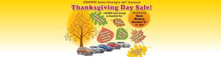 thanksgiving 2014 canada sales crown mazda car dealership winnipeg mb used cars crown mazda