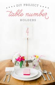 diy table number holders wooden table number holder tutorial the budget savvy