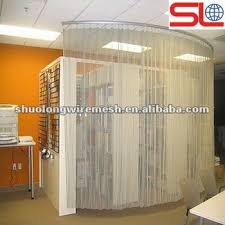 Hanging Curtain Room Divider by Factory Supply Floding Metal Textile Used As Hanging Room Divider