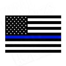 Hatis Flag Thin Blue Line Flag U2013 Wall Heroes