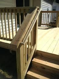 Ideas For Deck Handrail Designs Porch Stair Railing Ideas Of Deck And Designs Craftsman Variation