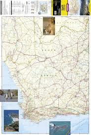 Adventure Map South Africa National Geographic Adventure Map National