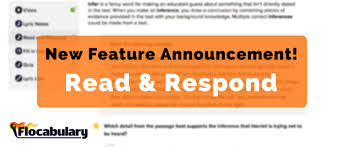 develop reading skills with flocabulary u0027s new feature read u0026 respond