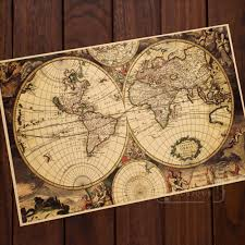 Old World Map Compare Prices On Old World Map Online Shopping Buy Low Price Old