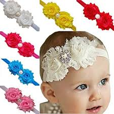 hair bands for tanzky 10pcs baby girl headbands elastic flower hair