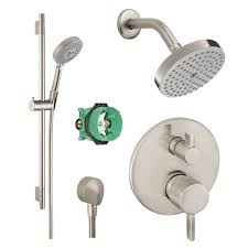 Hansgrohe Shower Faucet Hansgrohe Ksh04447 27486 66bn Raindance Shower Faucet Kit With