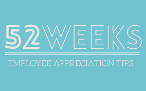 52 weeks of employee appreciation be giving u0026 say thanks rymax