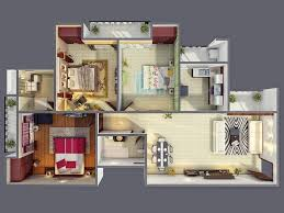 Low Cost Home Building Best Small House Designs In The World Bedroom Floor Plan Bungalow