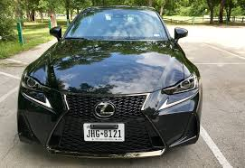 sporty lexus 4 door 2017 lexus is 350 f sport test drive
