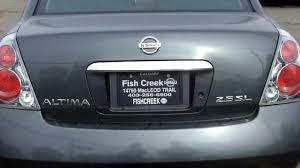 nissan altima 2005 used 2005 nissan altima 2 5sl grey fish creek nissan youtube