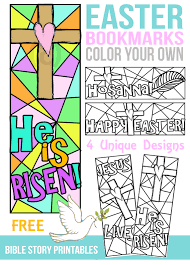 printable easter bookmarks to colour free color your own easter bookmarks free coloring bookmarks and