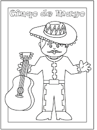 cinco mayo coloring pages print coloring