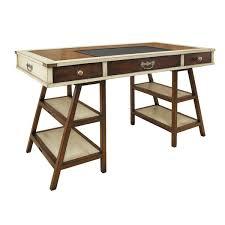 Campaign Style Desk Campaign Style Desk Wayfair