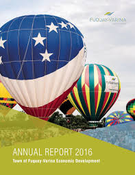 Economic Development 2016 Economic Development Annual Report Fuquay Varina Nc