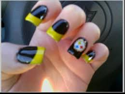 steeler nail designs images nail art designs