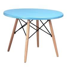 Scandi Dining Table Kids Dining Table Children U0027s Eames Eiffel Design Modern