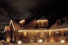 Vista Landscape Lighting by Christmas Lighting Green Vista Landscaping Inc