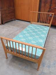 Vono Bed Frame A Pair Of Vintage Vono Bed Frames With Ercol Style Ends Each With
