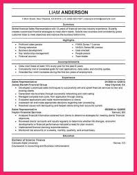 sales representative resume example sales representative resume
