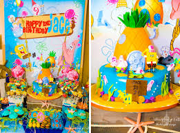 kara u0027s party ideas spongebob squarepants under the sea 2nd