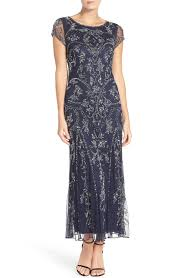 embellished mesh gown nordstrom gowns and groom dress