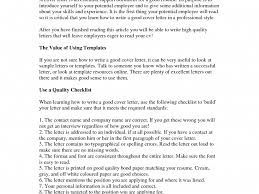 good it cover letter best cover letter for job application the