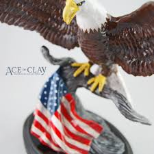 eagle cake topper ace of clay custom american eagle sculpture custom sculptures