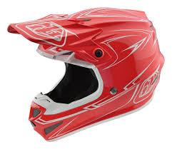 troy lee motocross helmets troy lee se4 pinstripe polyacrylite helmet revzilla