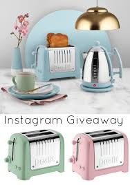 Green Kettles And Toasters Littlebigbell Dualit Lite Toaster And Kettle In Pastel Colours And