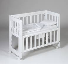 Baby Crib Side Bed White Bed Side Crib Festcinetarapaca Furniture Ideas For Build