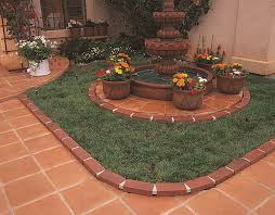 plastic garden edging ideas brick amazon com argee rg825 lets edge it decorative plastic brick