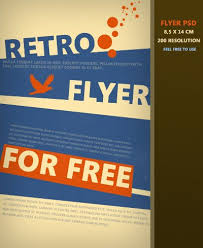 graphic design templates for flyers retro flyer templates retro flyer template xtremeflyers vintage
