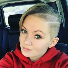 long choppy haircuts with side shaved 20 cute easy short pixie cuts for oval faces styles weekly