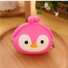 Dompet Koin Karakter jual dompet koin karakter penguin pink korean coin pouch