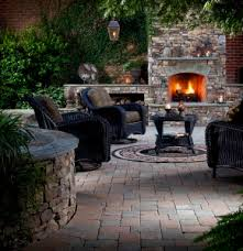 Belgard Fire Pit by Year Round Ideas For Outdoor Fireplaces And Fire Pits Outdoor