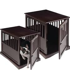 Wooden Crate Nightstand Furniture Dog Wooden Crates Pet Kennel Furniture Dog Crate