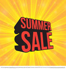 summer sale free sunburst summer sale vector