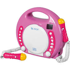 cd player kinderzimmer kinder cd player bobby joey inkl usb mp3 und mikrofone pink