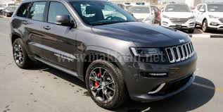 jeep cherokee grey 2017 jeep grand cherokee srt for sale in dubai 2016 grey silver 8 cylinders