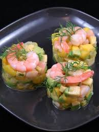 comment cuisiner des crevettes roses tartare de crevettes mangue avocats recette tartare de crevette
