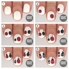 tutorial tuesday christmas baubles for barry m one nail to rule
