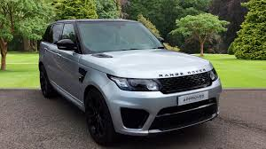 range rover silver 2015 used land rover range rover sport svr v8 supercharged silver vo15atz
