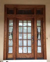 Refinish Exterior Door Enchanting How To Refinish Front Door Pictures Ideas House
